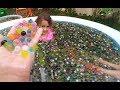 400.000 Orbez 2 havuz içinde yüzdük eğlendik, çocuk videosu