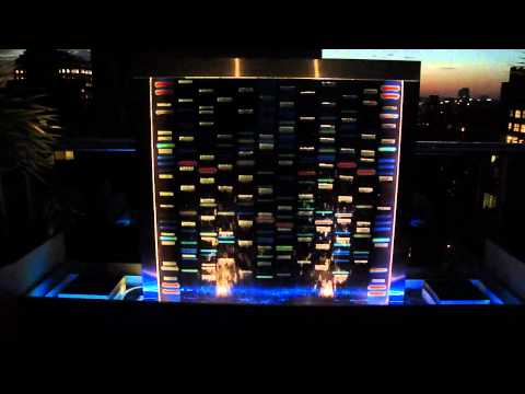 DNA Water Wall