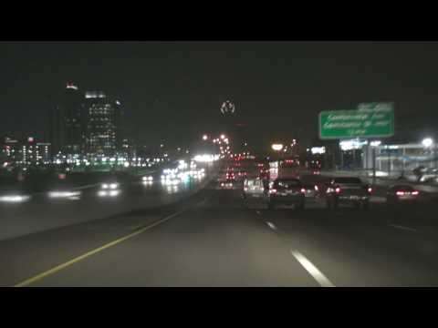 video follows i-45 n into downtown to us-75 central expressway through uptown dallas , to the high 5 interchange . then to i-635w through north dallas to i-35e and thrrough downtown dallas to i-30e.