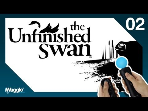The Unfinished Swan PS Move Walkthrough - Part 2/4 [Chapter 2] The Unfinished Empire