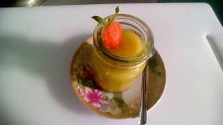 Bánh pudding bí đỏ và sữa đậu nành -Siêu ngon hấp dẫn
