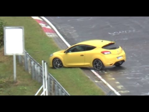 Nordschleife WET 02 10 2016 DRIFTS SPINS  CRASH ACTION  Highlights