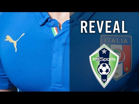 Italy 2014 World Cup Jersey   Reveal