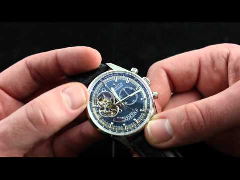 Zenith El Primero Chronomaster Open Charles Vermot Limited Edition Luxury Watch Review