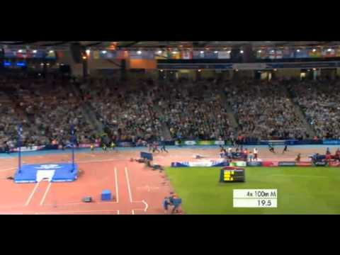 Usain Bolt is Back - Semi-Final 4x100m Glasgow Commonwealth Game