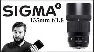 SIGMA Art 135mm f/1.8 - Review en Español