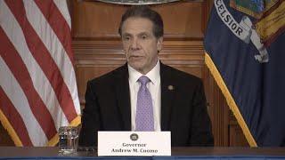 New York Gov. Cuomo holds news conference