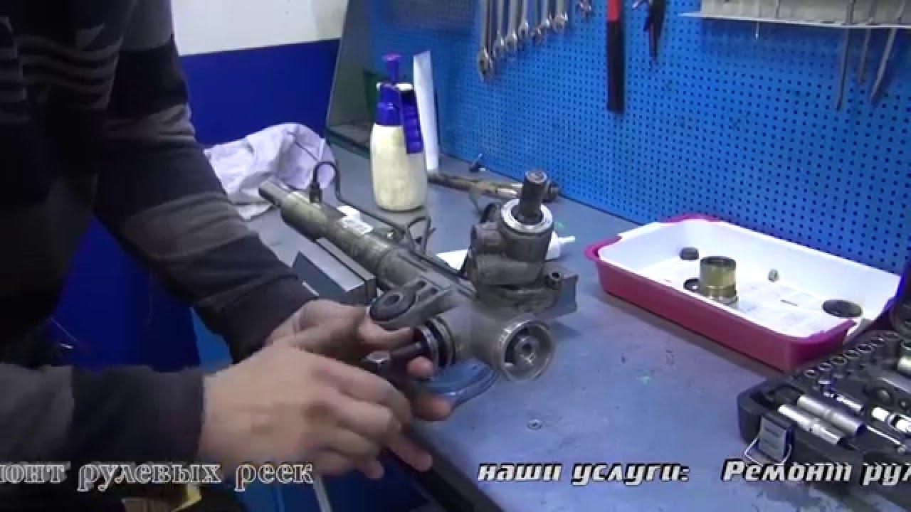 Ремонт рулевой рейки на ховер своими руками 53