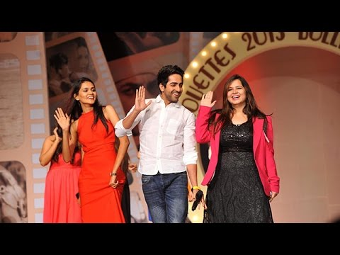Hot Models in Sarees at Silhouette 2013 Bollywood Bytes Annual Fashion Show