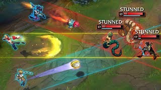 Timing The PERFECT Combo - BEAUTIFUL SYNERGY - League of Legends