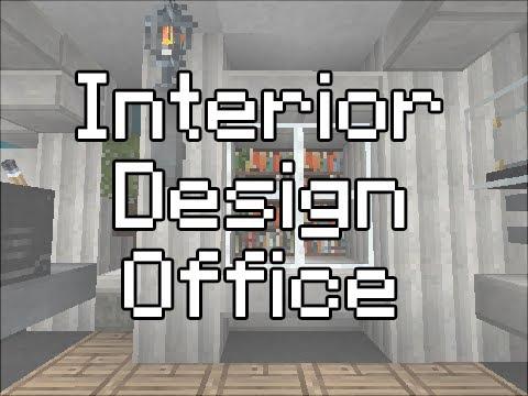 Minecraft interior design tutorial office by maxxyhax for Office design minecraft