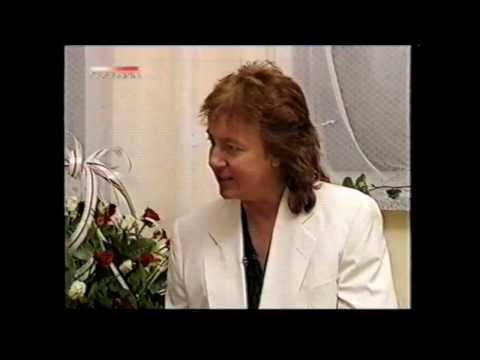 Chris Norman in Poland - Interview before the concert in Zlotow 1996