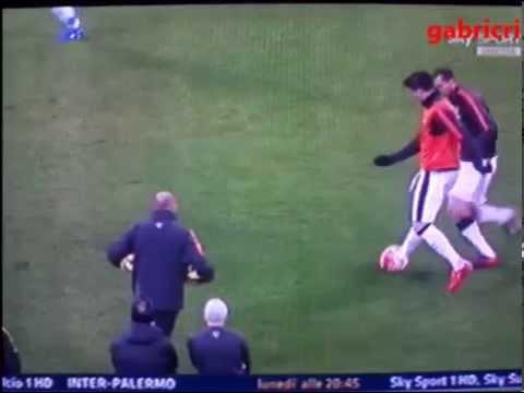 Juventus Milan 3 1 Chiellini fallo da pazzi su Morata