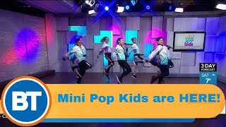 Mini Pop Kids perform 'I Like It' LIVE on BT!