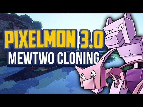 Minecraft Pixelmon 3.0 Mewtwo Guide, Pixelmon 3.0 Cloning Machine Crafting Recipe