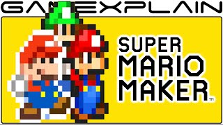 Super Mario Maker - Mario & Luigi: Paper Jam Costume Coming SOON!