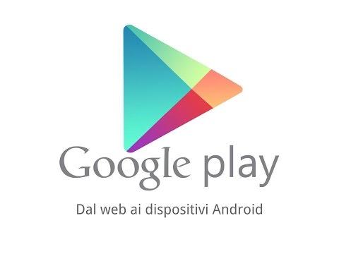 Google Play Store - installare app dal web