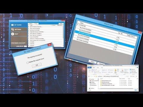PS4 MODDING TUTORIAL - SAVE EDITING RESIGNING   Borderlands 2 MOD PACK