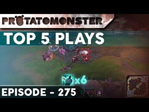 League of Legends Top 5 Plays Episode 275 - Featuring Pants are Dragon