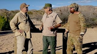 Army Sniper Legend, Ed Eaton, R Lee Ermey & Sawman on GunnyTime!
