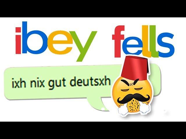 Ixh nix gut deutsxh - Ebay Kleinanzeigen Fails 12