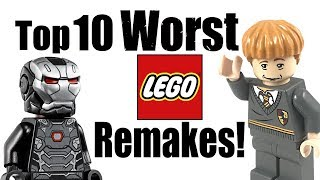 Top 10 Worst LEGO Remakes!