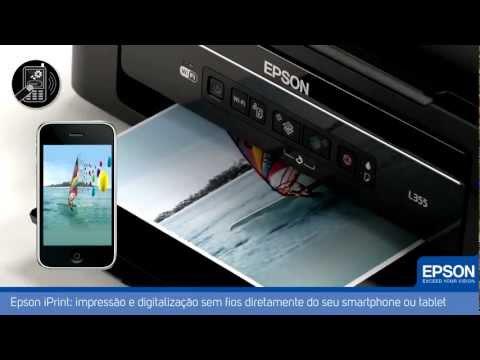 IMPERIUM I.T - Multifuncional Epson Tanque de Tinta L355 com Wi-Fi