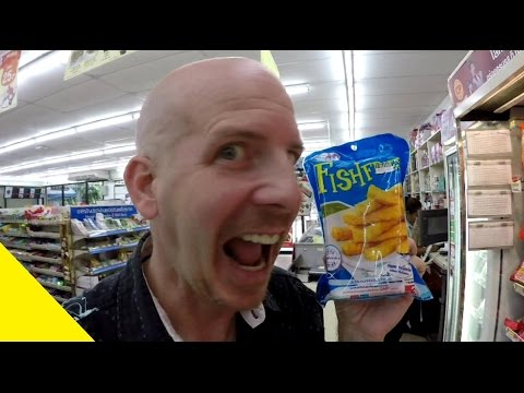 Credit Cards & fish sticks in Bangkok Thailand VLOG 040