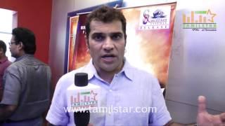 K  Rajeev Prasad At Sathuran Movie Team Interview