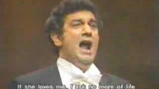 Placido Domingo Sherrill Milnes Sing Invano Alvaro
