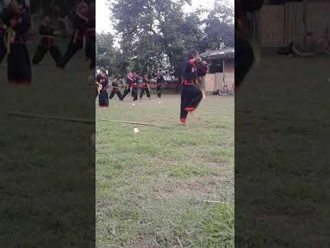 Latihan Seni Tunggal Pencak Silat Bantaran Angin Kec.woha