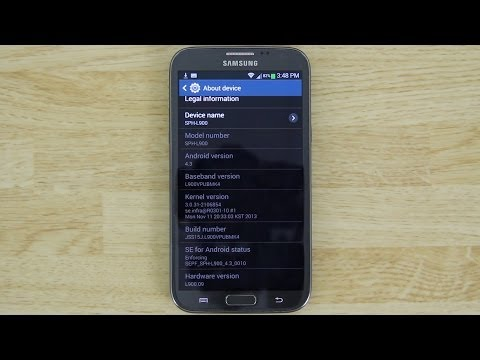 How To Update The Sprint Galaxy Note 2 Baseband to MK4!