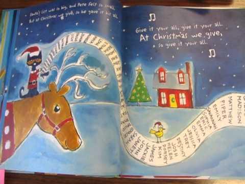 Pete The Cat Saves Christmas Simicrane