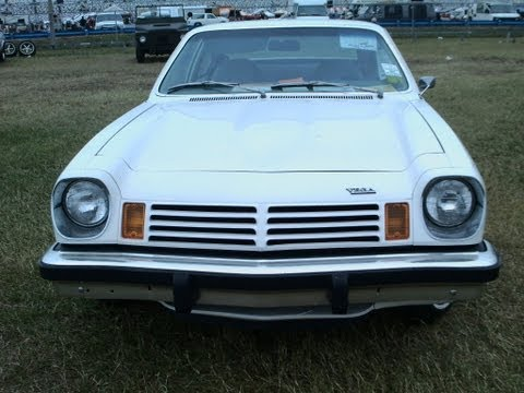 1974 Chevy Vega Hatchback Wht