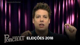 Fábio Porchat comenta  resultado do 1º turno das Eleições 2018