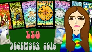 LEO DECEMBER 2016 Tarot psychic reading forecast predictions free