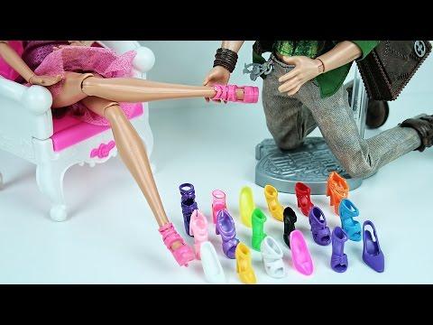 Туфли для кукол МХ и ЕАХ - Shoes for Dolls - Посылка из Китая - Видеоуроки онлайн