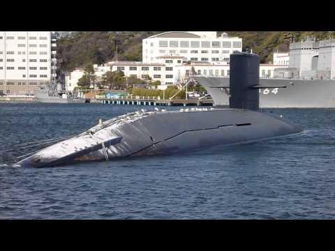 廃艦になった潜水艦