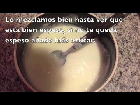 Receta Royal icing o Glasa real