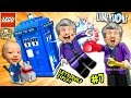 Lets Build & Play LEGO Dimensions #7: DR. WHO!? FGTEEV Duddy ...