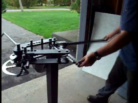JMR 3-Speed Manual Tube bender