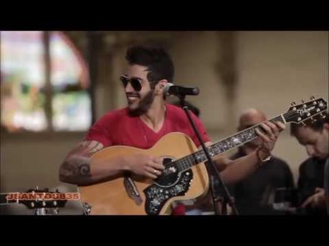 Gusttavo Lima cantando  Diz pra mim versão Voz e violão EXCLUSIVO