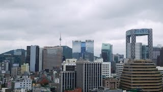 Rooftop View From Airbnb Condo In Seoul - Charm No 3 SK Hub