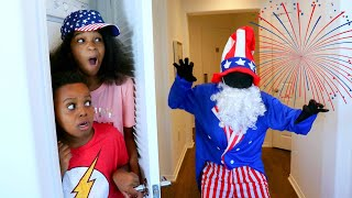 4TH OF JULY GUY vs Shiloh and Shasha - Onyx Kids