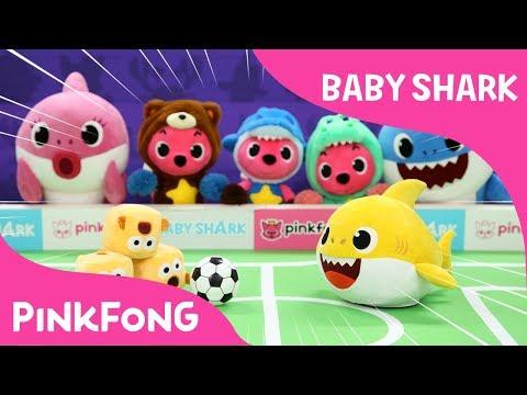 Sharky Pokey | Baby Shark | Pinkfong Plush | Pinkfong Songs for Children