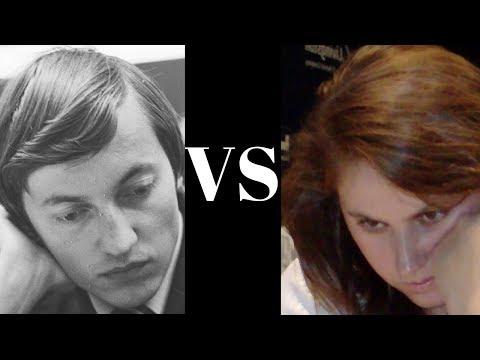Anatoly Karpov vs Judit Polgar - Dark square strangulation! - Sicilian Alapin (B22) (Chessworld.net)
