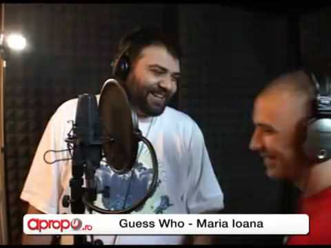 Live Guess Who & Grasu XXL - Maria Ioana-Flori Ilegale