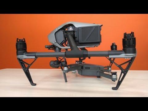 Самый лучший, продвинутый и надежный дрон? DJI Inspire 2 с Zenmuse x4s