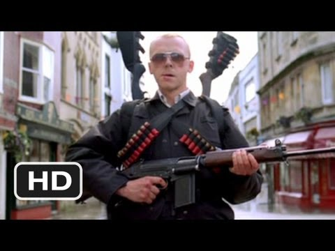 Hot Fuzz Movie Trailer - watch all clips http://j.mp/A8M9ex click to subscribe http://j.mp/sNDUs5 Jealous colleagues conspire to get a top London cop (Simon ...