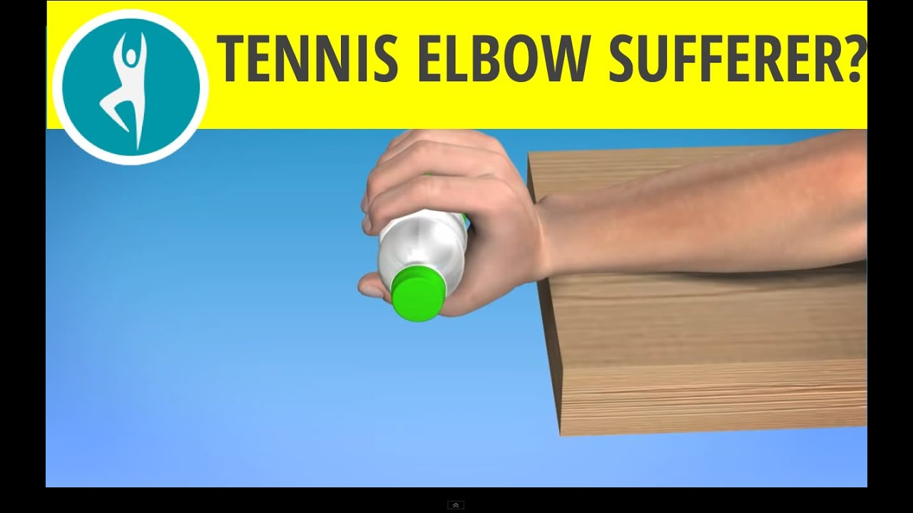 Tennis Elbow Exercise - Rehabilitation Exercise to Relieve Pain in Outer Elbow - YouTube
